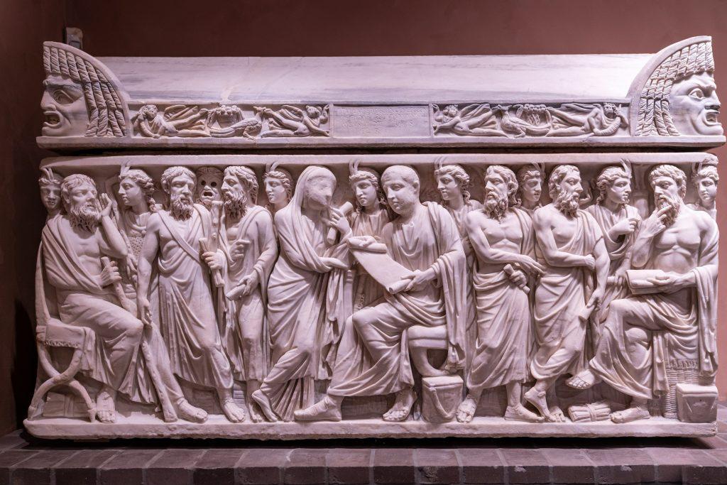 Sarcofago del Centurione Lucius Pullius Peregrinus